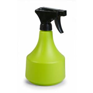 Sprayer mit Messingdüse, rund, lime-grün