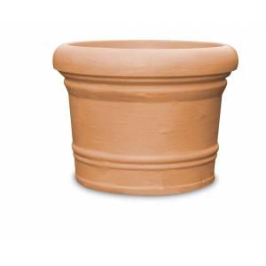 """Pflanztopf """"Lucca"""", rund, terracotta"""