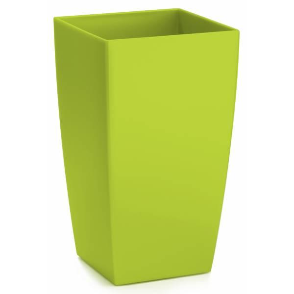 "Pflanztopf ""Algarve"", eckig, lime-grün"